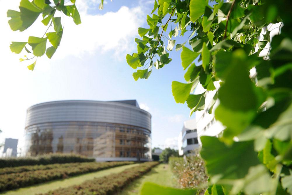 La Cité des Congrès de Nantes vue de l'extérieur