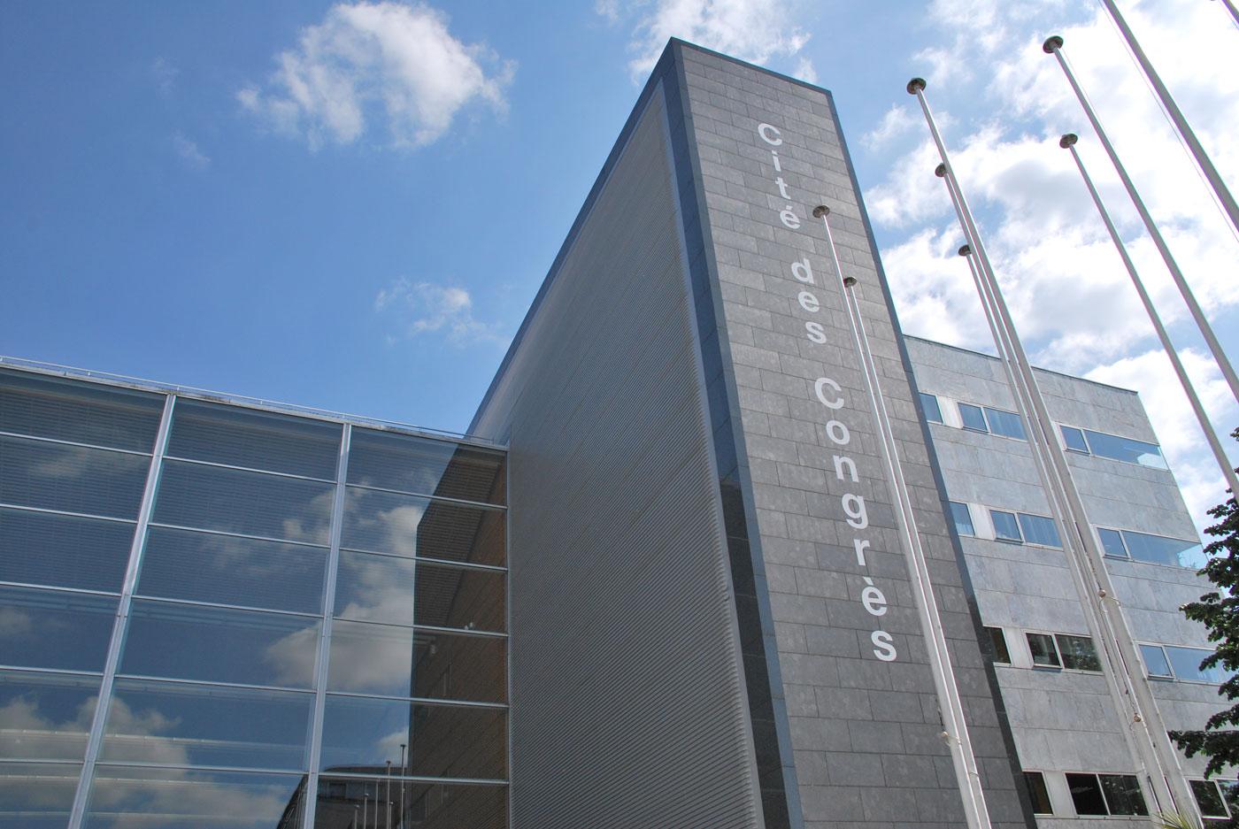 Entrée de La Cité des Congrès de Nantes