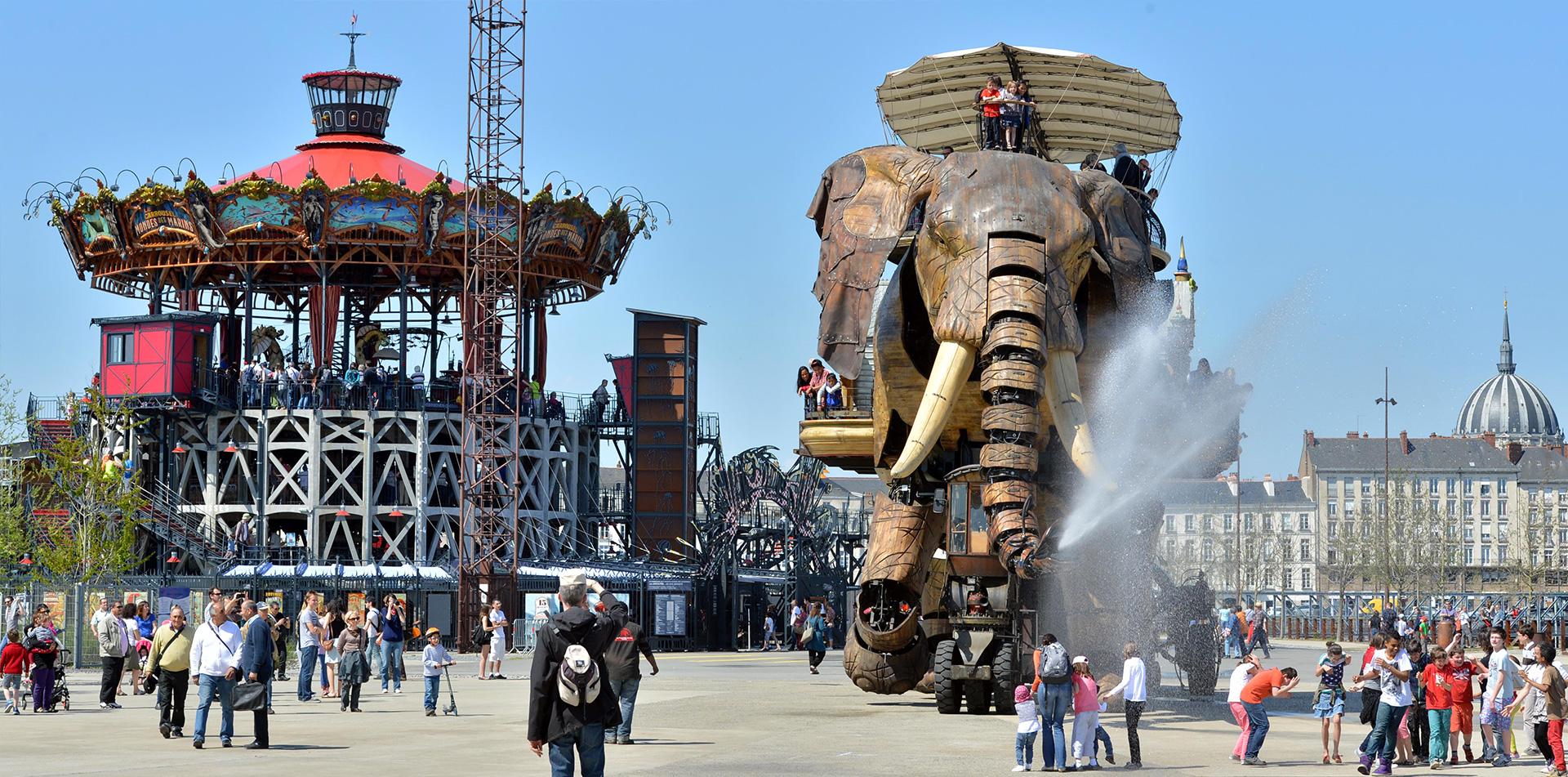 Le Grand Eléphant Les Machines Le carousel des mondes marins Nantes