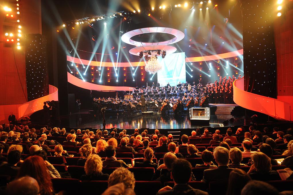 Soirée gala La Cité des Congrès de Nantes Grand Auditorium